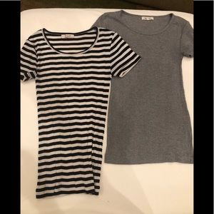 Lot of 2 Madewell tees, XS